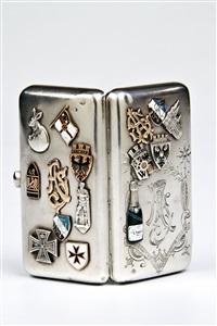 zigarettenetui mit souvenirs by wasilij semenov