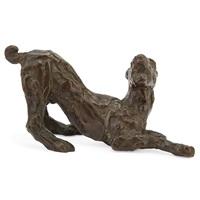 stretching dog by renée sintenis