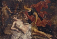 jupiter and callisto by augustus (snip) terwesten
