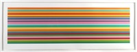 quartet (set of 4) by kenneth noland