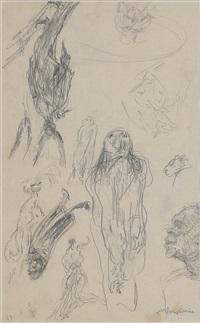 study sheet by alfred kubin