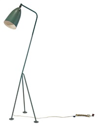 tripod floor lamp (model 831) by greta magnusson grossman