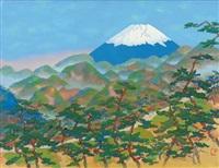 mount fuji viewing from sayonakayama by yoson ikeda