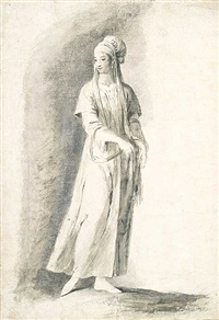 dama oriental by josé camaron y boronat