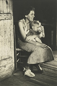 lily rogers fields and lillian fields, hale county, alabama by walker evans