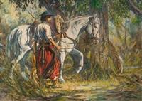 gaucho y tordillo by esteban r. garino