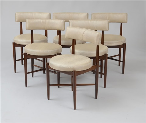 Ib Kofod Larsen For G Plan, Six Dining Chairs By Ib Kofod Larsen