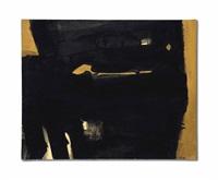 peinture 65 x 81 cm, 1er septembre by pierre soulages