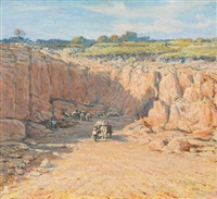 stathams quarry gooseberry hill by george f. harris