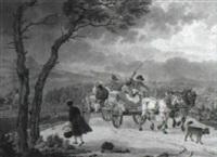 resande s,llskap i h,st och vagn by adam von bartsch