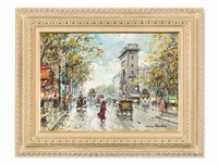les grands boulevards by antoine blanchard