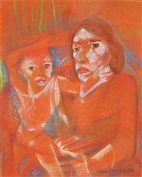 mother and child by onib olmedo