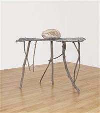 lo spazio della scultura pelle di cedro pietre by giuseppe penone