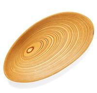 a tapio wirkkala aeroplan veneer dish by tapio wirkkala