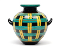 a vase a stuoia by gio ponti
