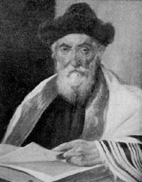 bildnis eines rabbiners by franz obermüller