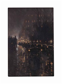 new york by fernand harvey lungren