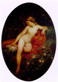 nu aux roses by jules luntenschutz