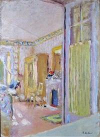 chambre de madame vuillard à la closerie des genêts by edouard vuillard