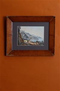 vue d'amalfi by giacinto gigante