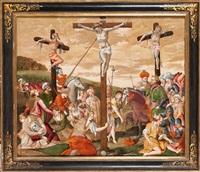 la crucifixión by italian school-northern (17)