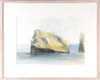 rock off gayhead coast i by sidney goodman