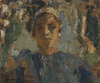 ritratto femminile by giuseppe amisani