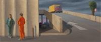 ramp by factory by jeffrey smart