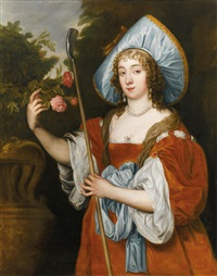 lady dorothy sydney (1617- 1684) by sir anthony van dyck