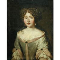 portrait of a lady thought to be lucrezia piccolomini by jakob ferdinand voet