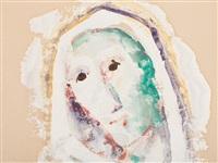 veiled head by karl hofer