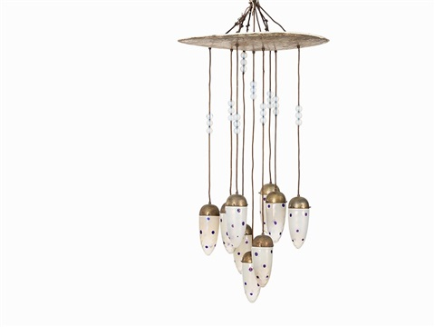 Ceiling Lamp By Koloman (kolo) Moser