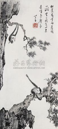 猿戏图 by pu ru