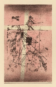 seiltänzer by paul klee