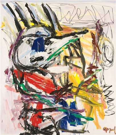 personage by karel appel