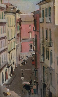 via di napoli by eugenio scorzelli