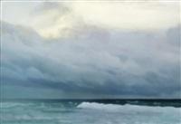 ocean (violet green blue) no 60 by chris langlois