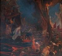 l'arrivée de la flotte aux indes by dominique charles fouqueray
