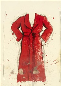 bathrobe by jim dine
