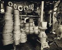 rope store, peerless equipment co., manhattan, 1936 by berenice abbott