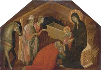 the adoration of the magi by seminary madonna master