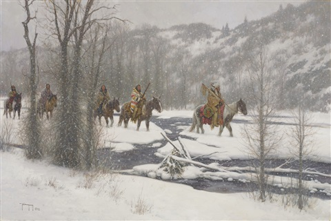 winters arrival by robert duncan
