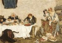 le quart d'heure de rabelais by willem linnig the younger