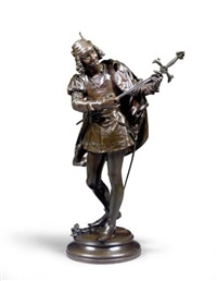 a seranading young squire by leon fagel