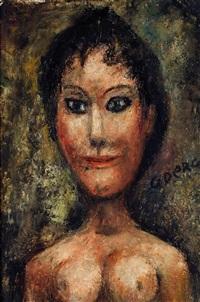 la brune by édouard joseph goerg