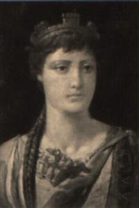doncella romana by benito mercade y fabregas