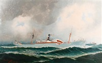 the helene menzell out at sea by john henry mohrmann