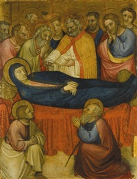 the dormition of the virgin by jacopo avanzi