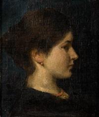 portret kobiety by anna bilinska-bohdanowicz