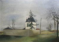 house under grey sky by albert deman
